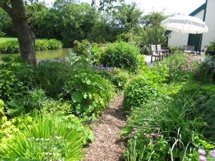 Gardens and Pond