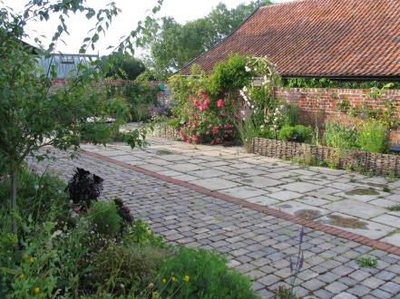 Front Barn Courtyard