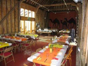 dinner in the barn 2