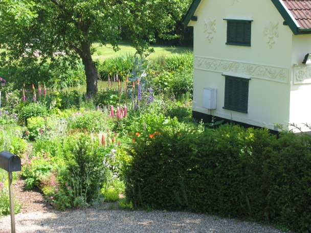 Gardens and House