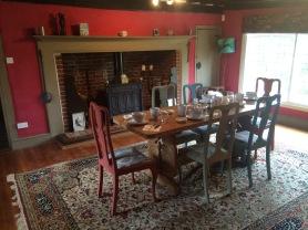 Breakfast Room, Fire view
